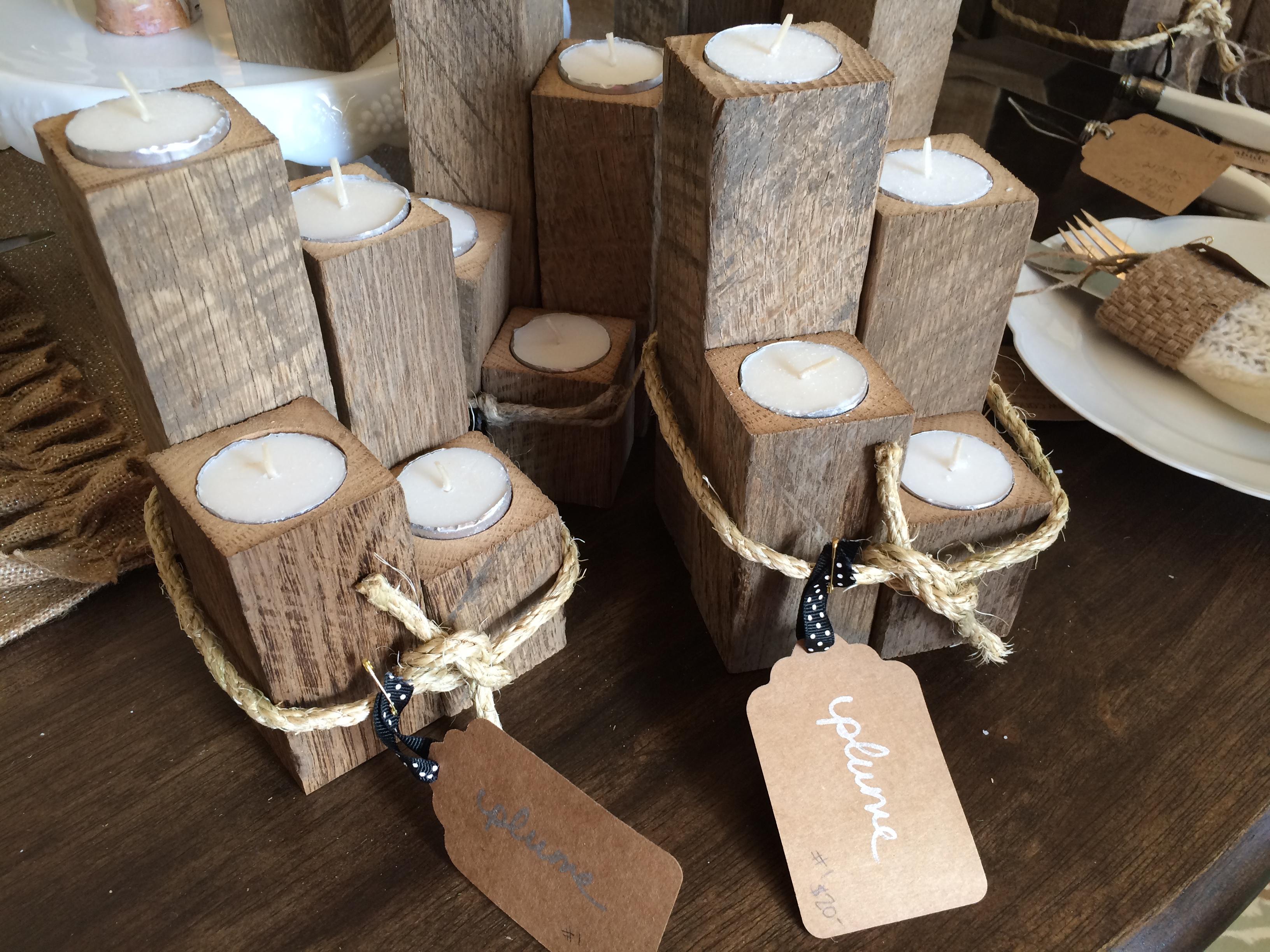 Barnwood Candles